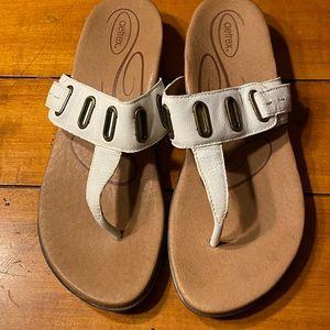 Aetrex sandals size 9.5